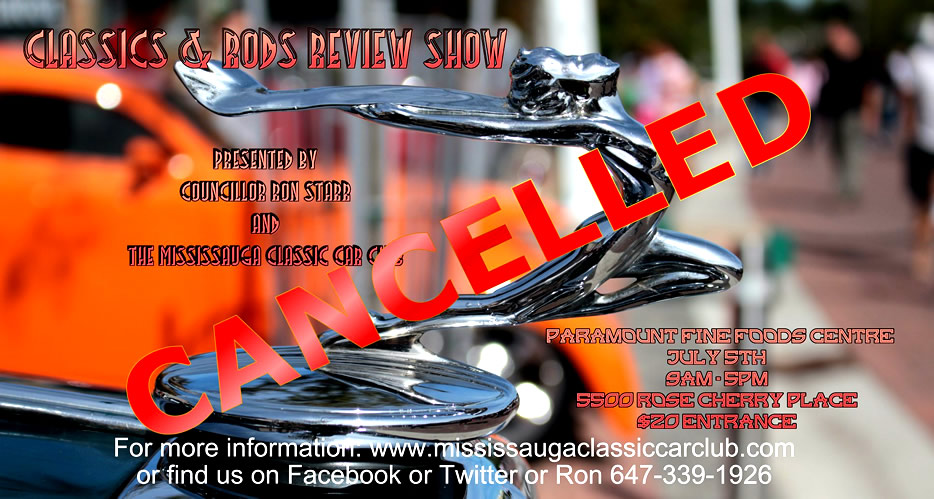 CARRS Cancellation Notice